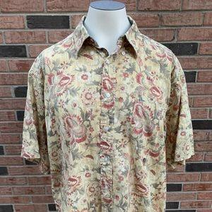 Tommy Hilfiger Polo Golf Hawaiian/Flower Shirt